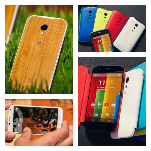 Moto X and G Collage