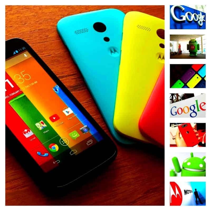 Motorola Google Collage Android Headlines
