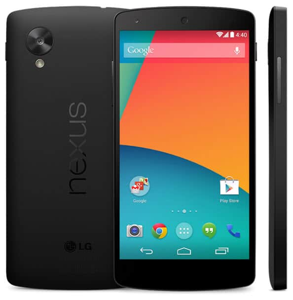 Nexus 5 on Play Store