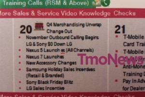 Nexus 5 Landing in T-Mobile Stores on November 20th