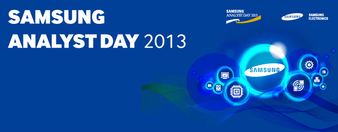 Samsung Analyst Day 2013