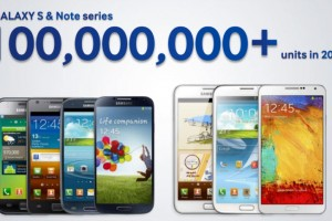 Samsung Expects to Ship Over 100,000,000 Galaxy S and Galaxy Note Phones in 2013