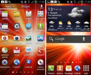 Samsung Touchqiz