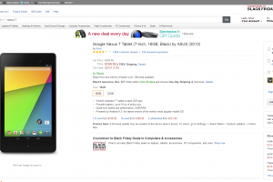 Android Tablet Deals: Nexus 7 (2013) Available for $199 on Amazon