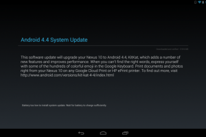 Download: Android 4.4 – KRT16S for the Google Nexus 10