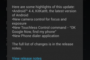 AT&T Moto X Getting the Android 4.4 KitKat Update Right Now!