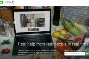 Google's Helpouts Service Is Now Official; Brings Real Time Help on A Variety of Subjects