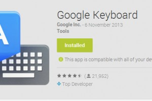Google Keyboard Gets Updated to Version 2.0 in the Play Store; Brings KitKat Features to All