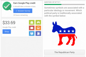 Google Opinion Rewards App Lands on the Play Store, Answer Surveys and Get Google Play Credit