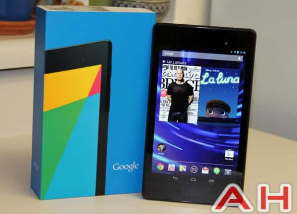 nexus 7 with AH