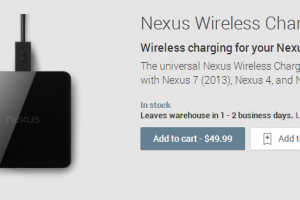 UK Residents Can Now Buy The Nexus Wireless Charger From The Play Store