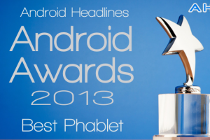AH Awards 2013: Best Android Phablet / Large Smartphone of the Year!