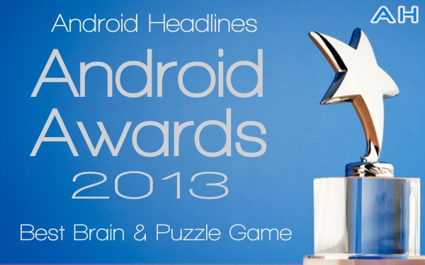 Android Awards 2013 - Best Brain and Puzzle Game