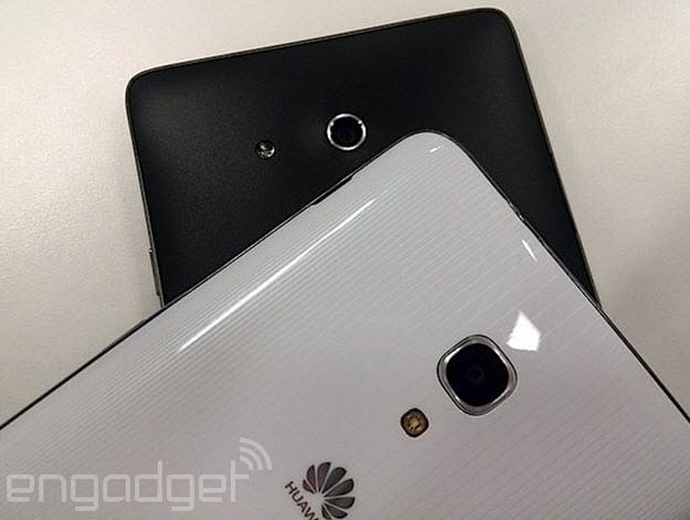 Ascend Mate 2 fronts