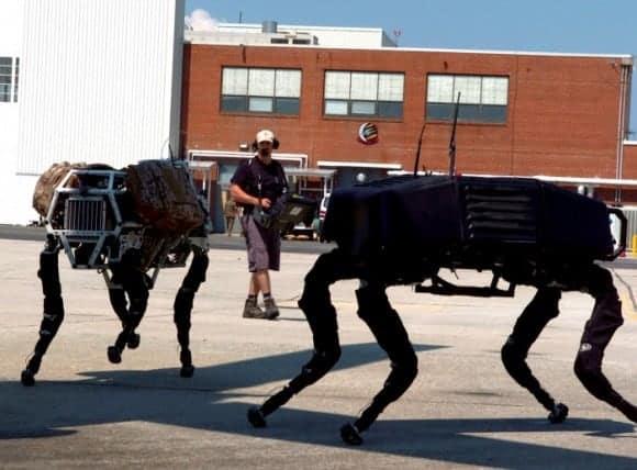 BigDog Boston Dynamics Robots