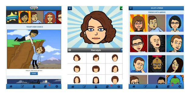 Bitstrips Collage
