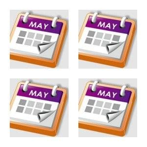 Calendar Pad Collage