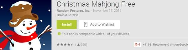 Christmas Mahjong Free