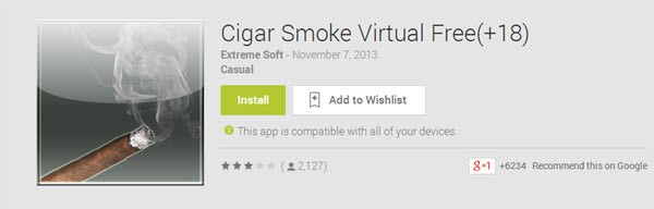 Cigar Smoke Virtual Free (+18)