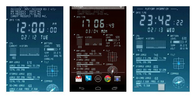 Device Info Collage