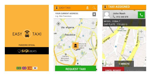 Easy Taxi Collage