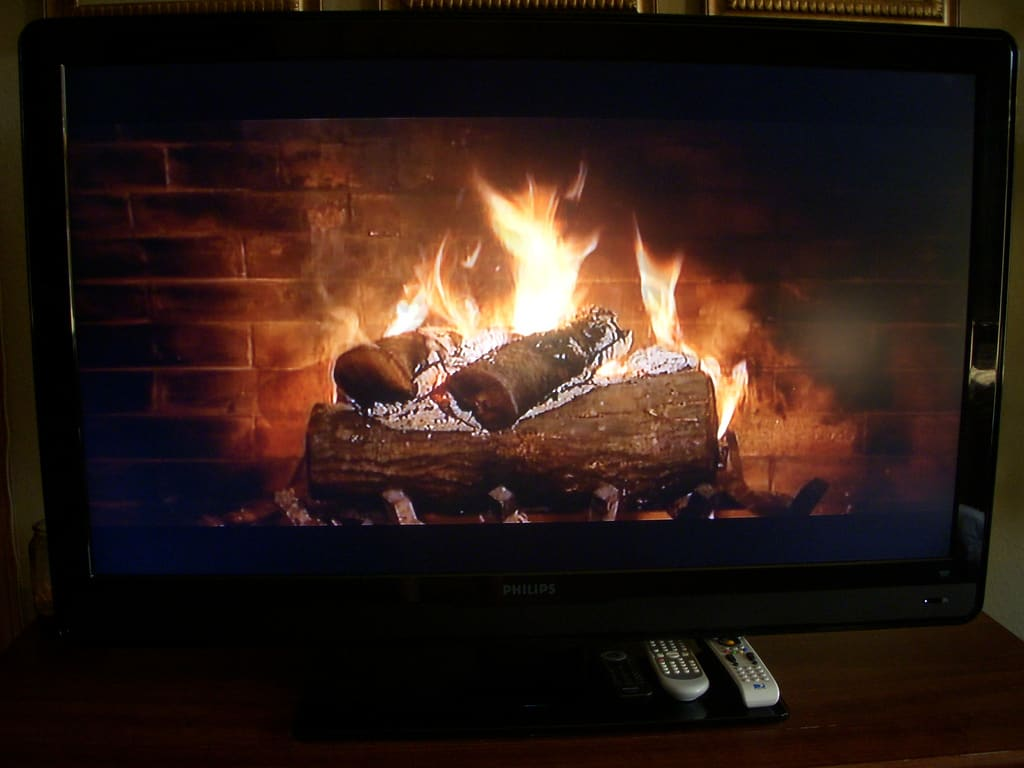 Chrome Team Rolls Out Virtual Fireplace That You Can Cast To Your Tv