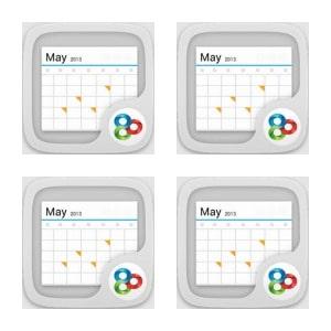 GO Calendar Widget Collage