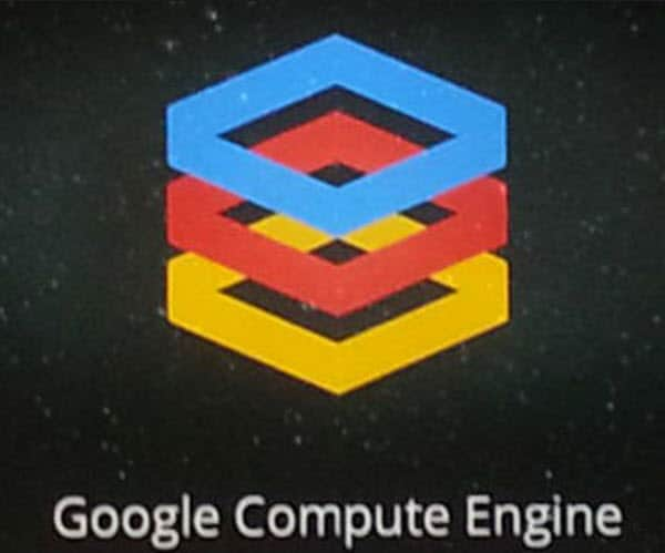 Google Compute Engine Main