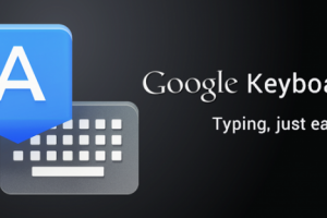 Google Updates It's Keyboard App; Choose Between Blue Or White Theme