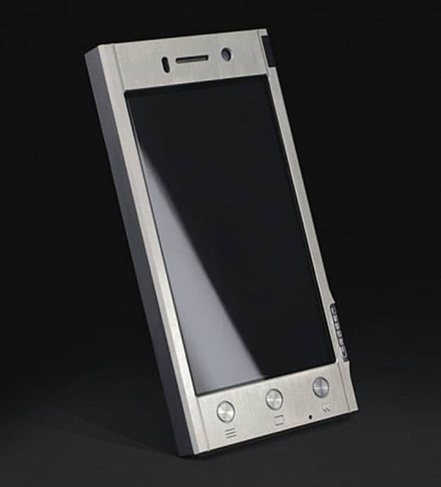 Gresso Smartphone Front