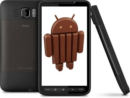 HTC HD2 Kit Kat
