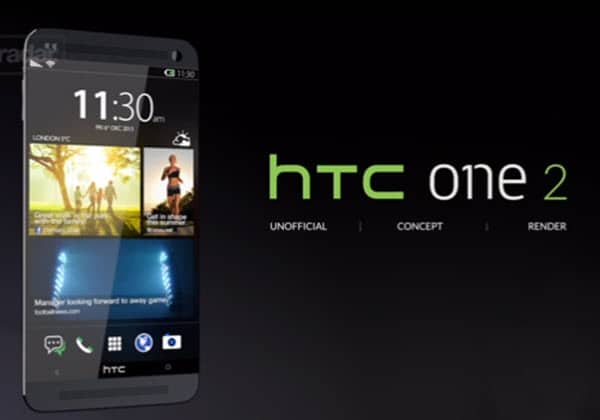 HTC One 2 Front