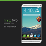 HTC two Homescreen