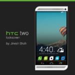 HTC two lockscreen