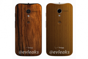@Evleaks Leaks Pictures of the Moto X in Wood with the All Too Familiar Verizon Logo