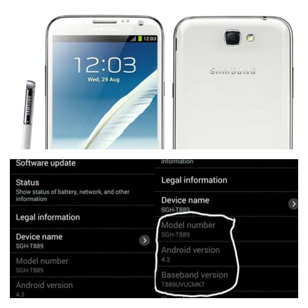 Note 2 Android 4.3