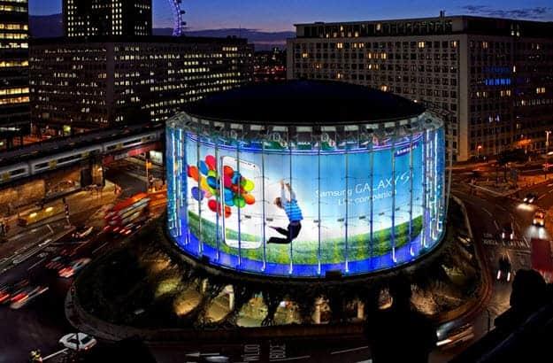 Samsung Building Round