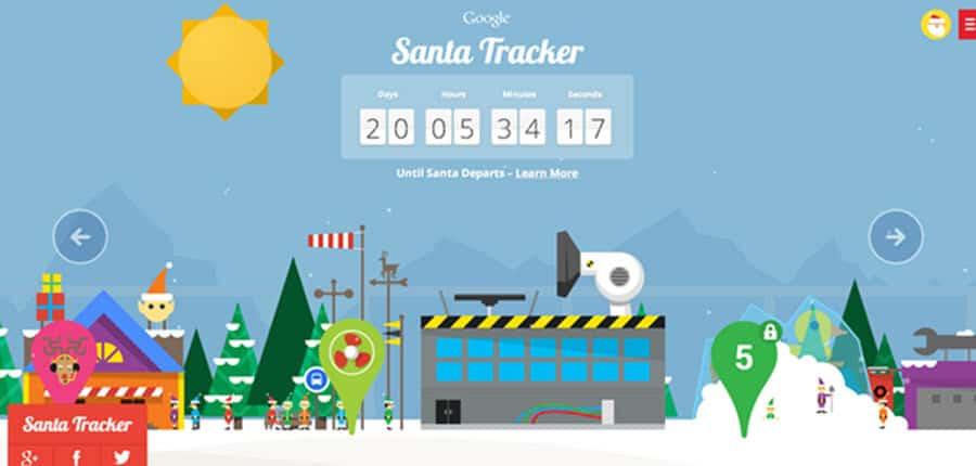 Santa Tracker Main