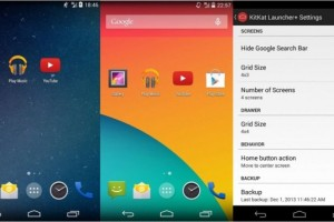 KitKat Launcher+ Lands on the Play Store, Giving that Google Experience Launcher More Options for Android 4.3 and Above