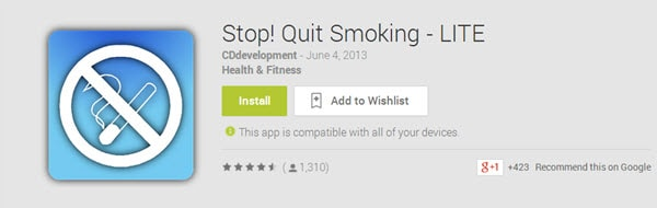 Stop! Quit Smoking - LITE