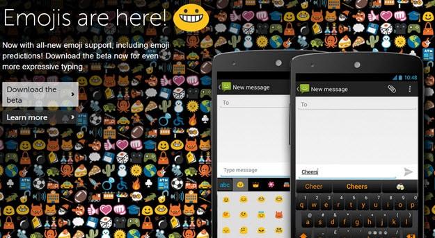 SwiftKey Emojis