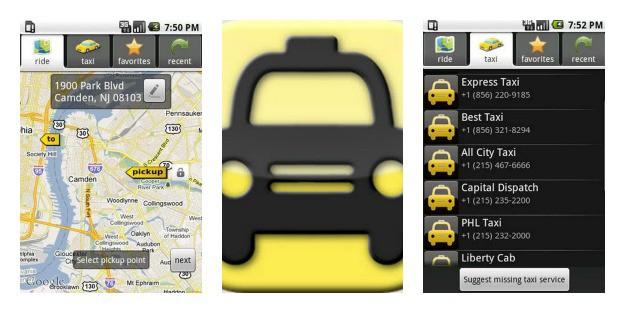 Taxi Caller Collage