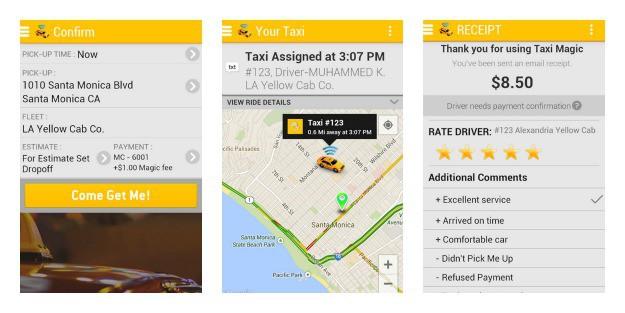 Taxi Magic Collage
