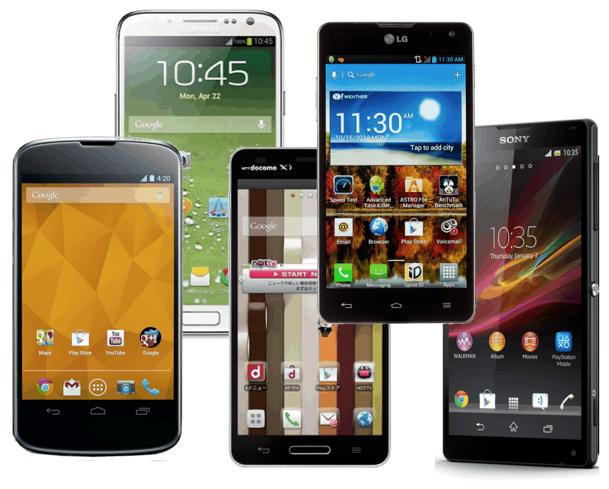 2013 Year In Review Android Smartphones