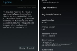 Download: Android 4.4.2 for the Nexus 5, Nexus 4, Nexus 7 2013 WiFi and Nexus 10