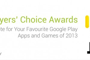 Google Invites Users to Vote On Their Favorite Android Apps and Games of 2013
