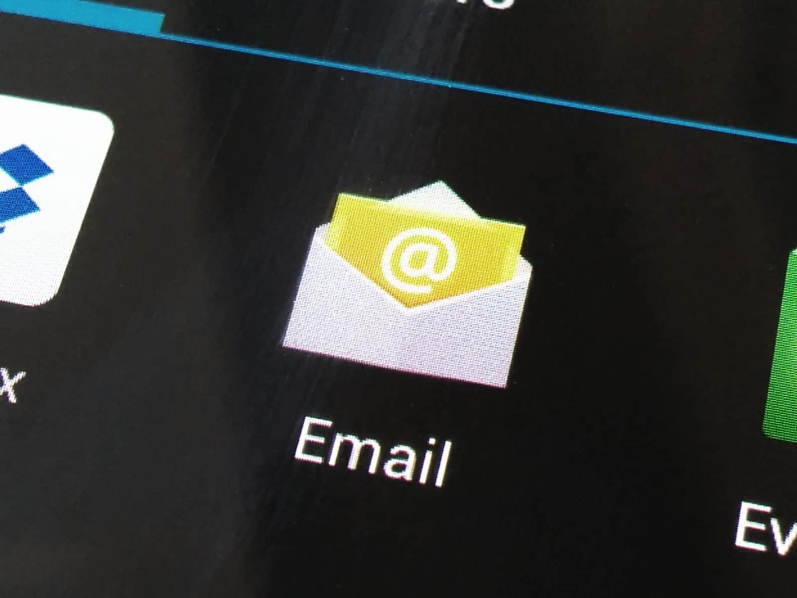 Stock Email App Icon