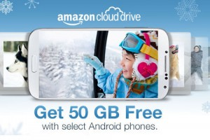 Amazon Giving Away 50GB of Cloud Storage With Selected Android Smartphones