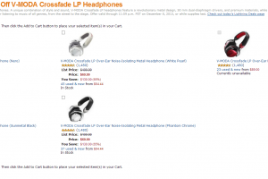 Amazon Offering the V-MODA Crossfade LP Headphones for $70 Today-Only