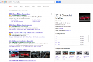 Google Adds Car Make and Model Information to their Extensive Knowledge Graph